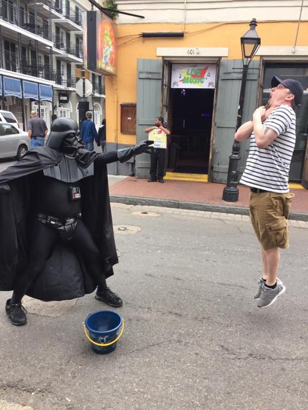 Real Life Vader