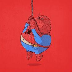 fat spiderman