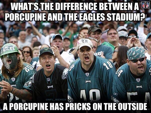 Another Reason Why Eagle Fans Are Scum On The Bottom Of The Ocean