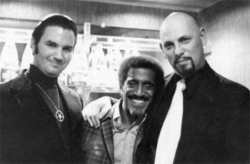 Sammy Davis Jr. and the Founder of the Church of Satan Anton LaVey