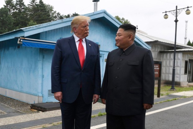 Trump Korea DMZ, Panmunjom, South Korea - 30 Jun 2019