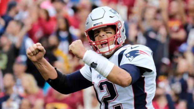Patriots Brady Football, Washington, United States - 06 Oct 2019