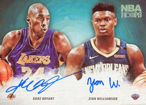 2019-20-NBA-Hoops-Zion-Williamson-RC-Hoops-Art-Signatures-Kobe-Bryant